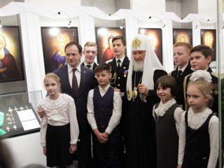 Выставка «Награды Русской Православной Церкви. За труды понесенные»