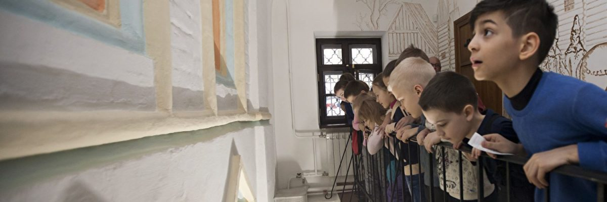 Выпускной для начальной школы в музее «Стрелецкие палаты»