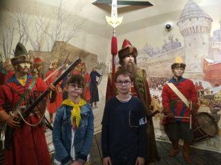 Ребята из «Московской смены» посетили Музей Московских стрельцов «Стрелецкие палаты»