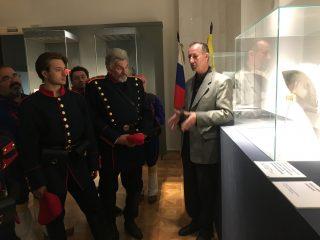 Музей военной формы одежды посетила делегация из Болгарии