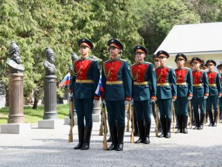 День Преображенского полка в Музее военной формы одежды