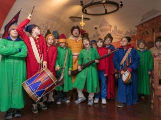 Новогодние детские программы Музея Московских стрельцов «Стрелецкие палаты»
