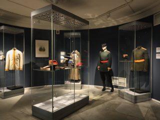 Уникальные предметы военной формы представлены на выставке «Спасённые реликвии. Два века славы»