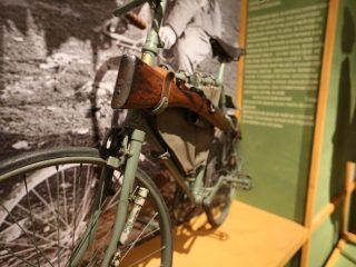 Историю военных велосипедов представили в Музее военной формы!