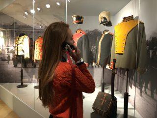 По новой экспозиции Музея военной истории РВИО теперь можно пройти с аудиогидом!