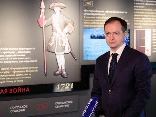 Владимир Мединский проверил готовность Музея военной формы к акции «Ночь музеев – 2020»